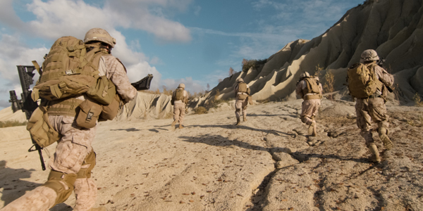 Soldiers leave Afghanistan – level 3