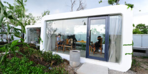 People live in a 3D-printed house